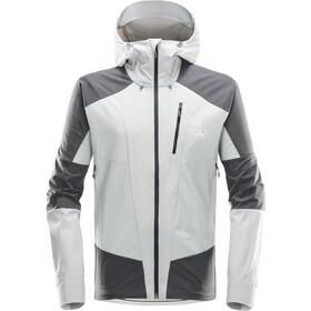 Haglöfs Skarn Hybrid Jacket Men stone grey/magnetite